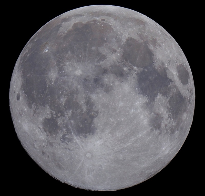 Most people call the second Full Moon in a month a Blue Moon.