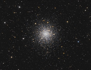 Globular cluster M12 isn't one of the go-to globs in the constellation Ophiuchus the Serpent-bearer.