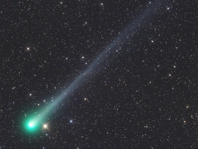 Comet Catalina (C/2013 US10) was discovered on Halloween 2013.