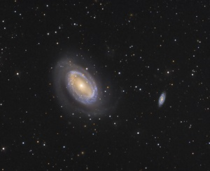 NGC 4725 is a barred spiral galaxy in the constellation Coma Berenices.