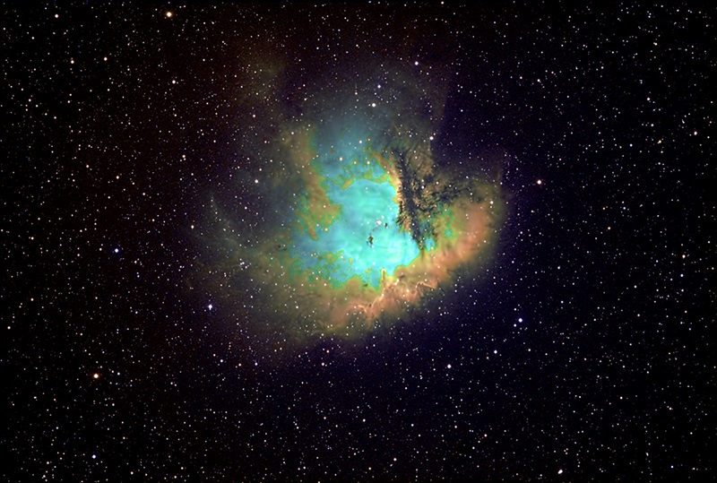 The Pacman Nebula in Cassiopeia