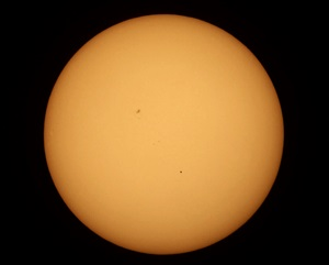 Transit of Mercury in 2016