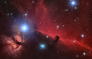 The Horsehead Nebula in Orion