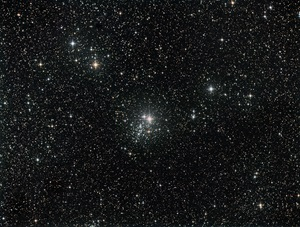 Open cluster NGC 457 in Cassiopeia
