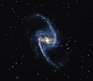 Barred spiral galaxy NGC 1365