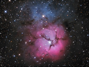 The Trifid Nebula in Sagittarius