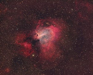 The Swan Nebula in Sagittarius