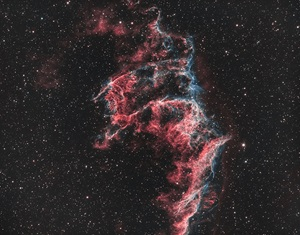 The Eastern Veil Nebula in Cygnus