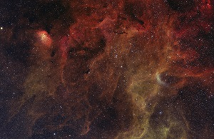 NGC 6871 and a few Barnard objects in Cygnus