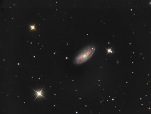 Spiral galaxy M88 in Coma Berenices