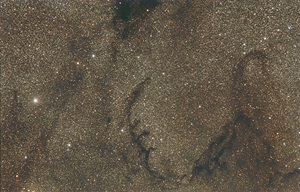 Dark nebula Barnard 75 and others