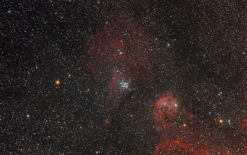Open cluster NGC 3293 in Carina