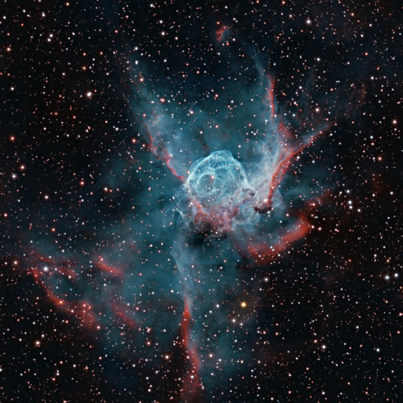 The Helmet of Thor NGC 2359