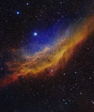 The California Nebula in false color