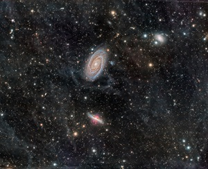 Two great galaxies