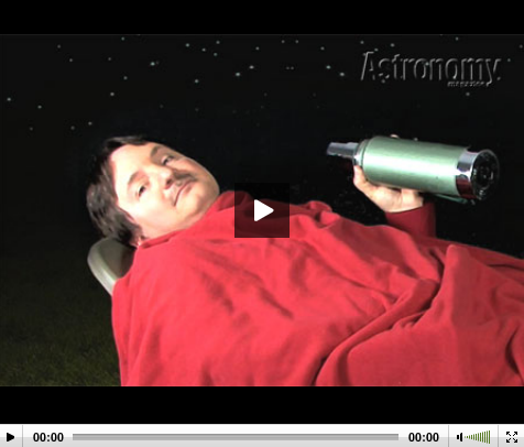 Senior Editor Michael Bakich explains how best to view an meteor shower.