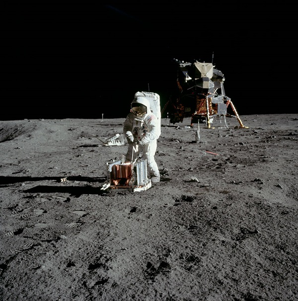 Neil Armstrong and Buzz Aldrin had to perform and set up experiments.