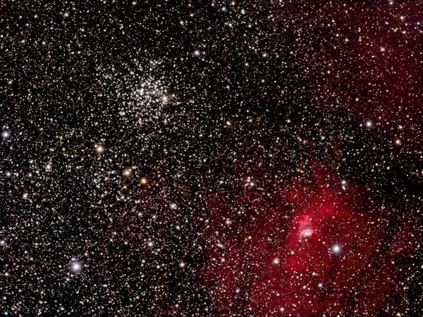 Open cluster M52 lies in Cassiopeia