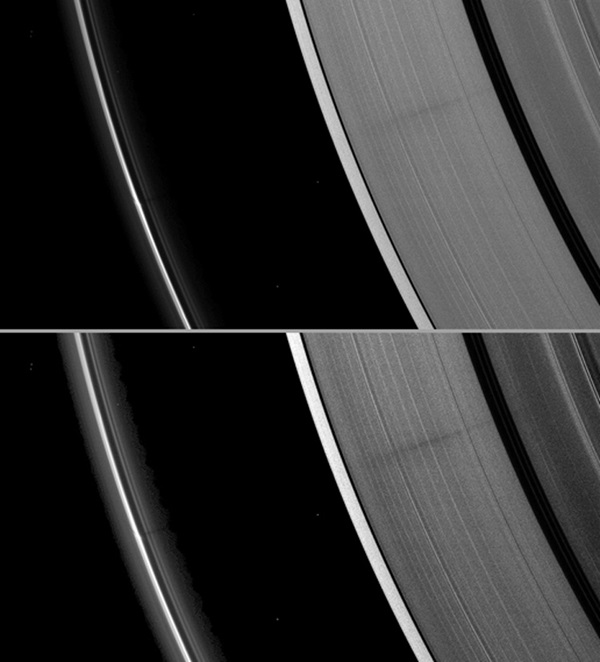 Saturn A ring