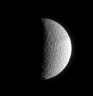 Tethys from Cassini
