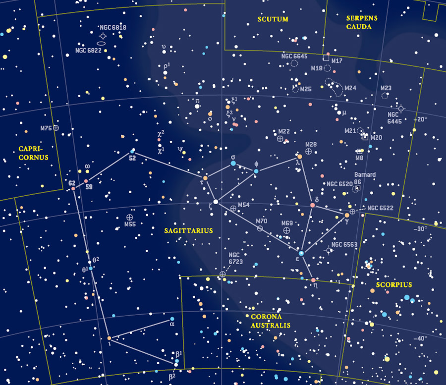 how to find the celestial plane in the night sky