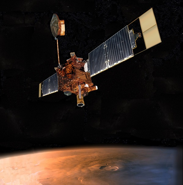 Mars Global Surveyor spacecraft
