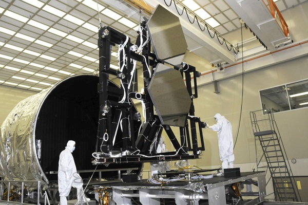 James Webb Space Telescope mirror