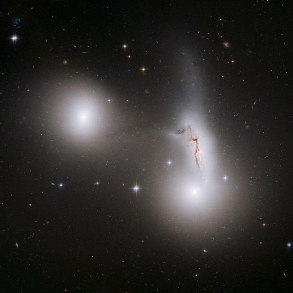 Trio of galaxies