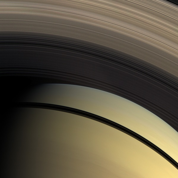Saturn ring gradation