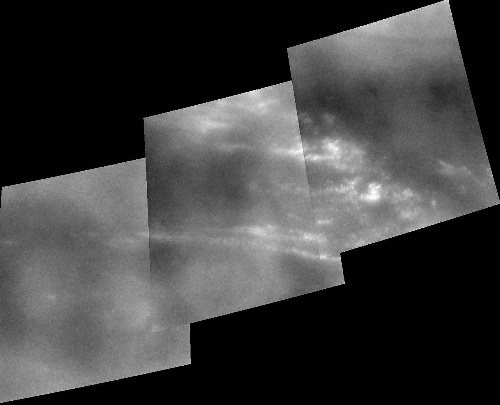 Titan's mid-latitude clouds