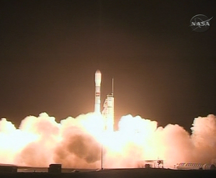 WISE spacecraft launch