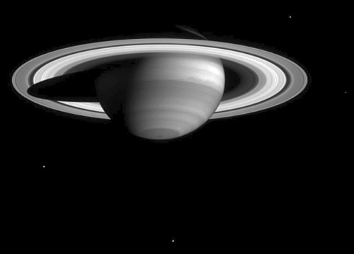 Cassini views Saturn's methane