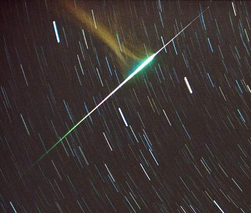 Leonid Fireball in Ursa Major