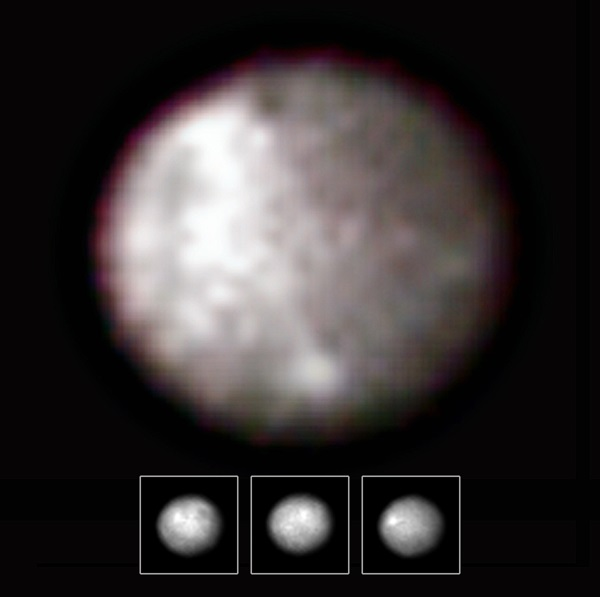 Hubble views asteroid Ceres
