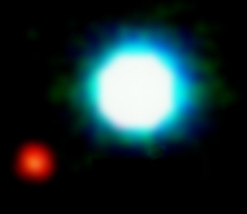 Exoplanet around brown dwarf 2M1207?