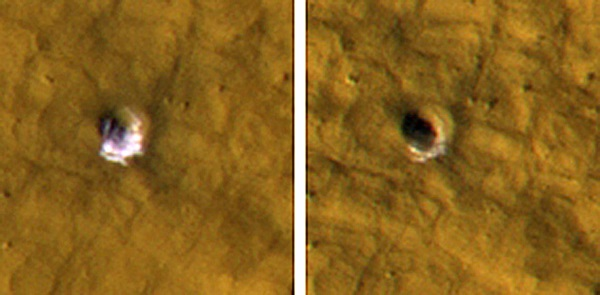 Martian water ice