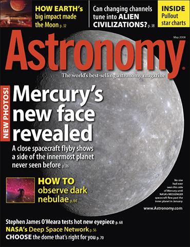 Astronomy magazine May 2008
