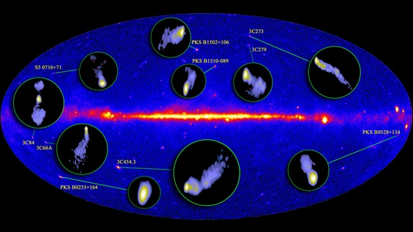 Radio jets of active galaxies