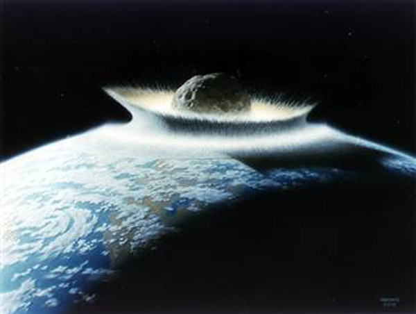 Asteroid bombardment