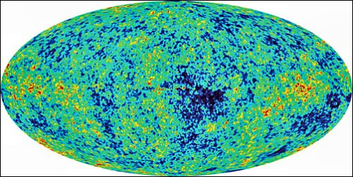 WMAP view of the cosmic microwave background