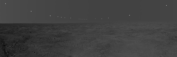 panorama mosaic of Mars