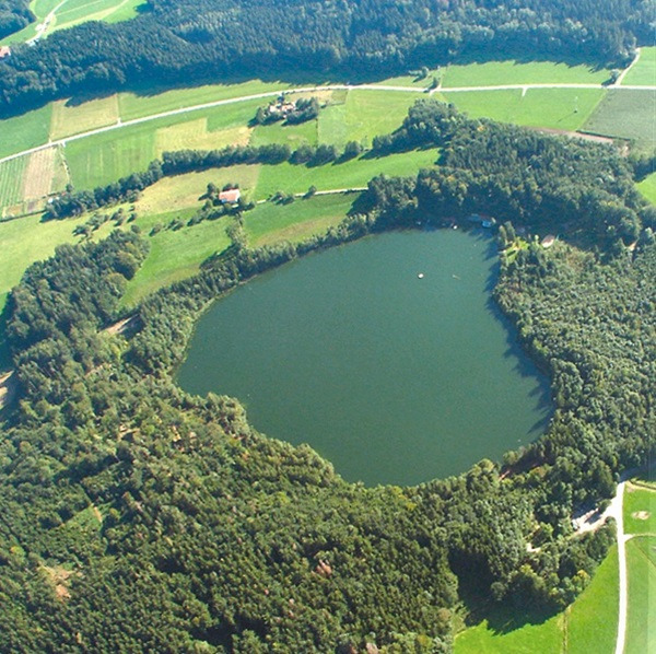 Lake Tüttensee impact crater, Germany