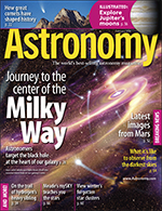 Astronomy magazine February 2008 cover