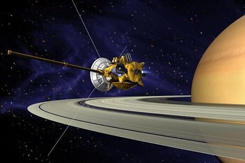 Cassini arrives at Saturn