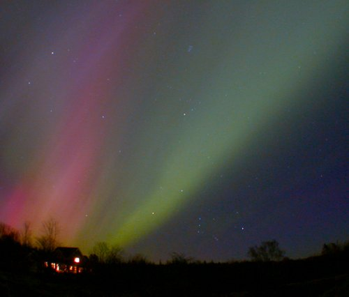 Auroral view from Ontario