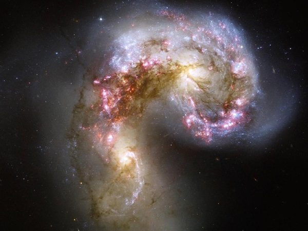 Antennae galaxies