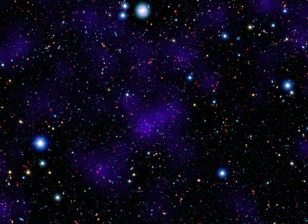 Distant cluster