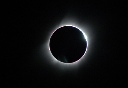 Solar eclipse (April 8, 2005)