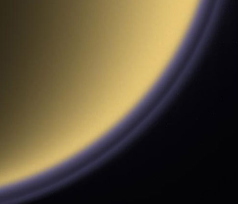 Titan haze layers