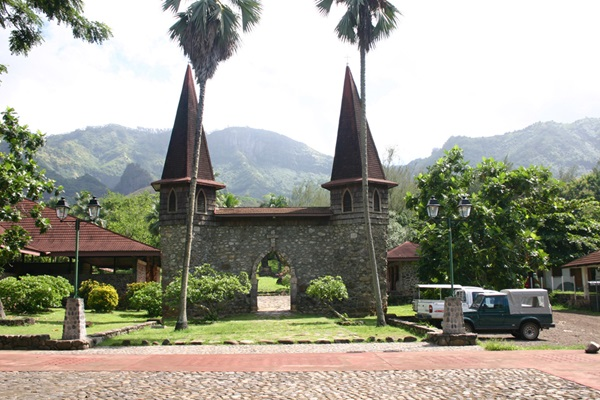 Cathedral on Nuku Hiva